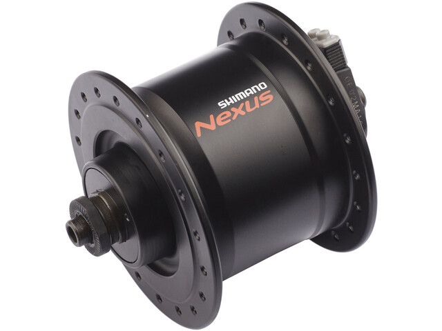 Shimano Nexus DH-C3000-3N Naafdynamo 3 Watt voor velgrem/snelspanner, black